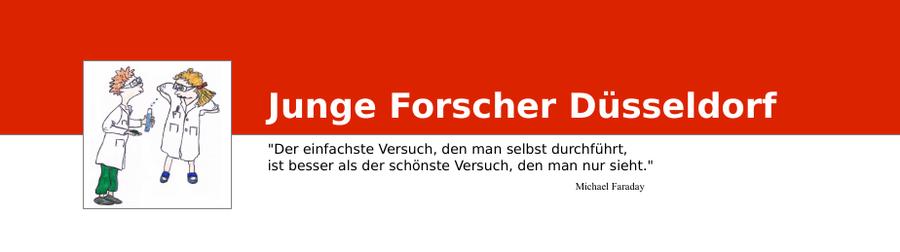 Junge Forscher Duesseldorf